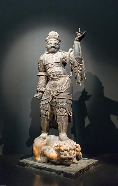 Standing Bishamon Ten (Vaisravana)
