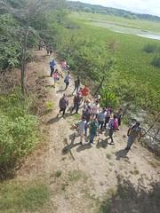 Investigadores universitarios recorrieron el humedal La Segua