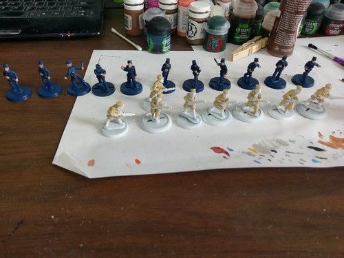Casablanca 28mm foreign legion and French Police