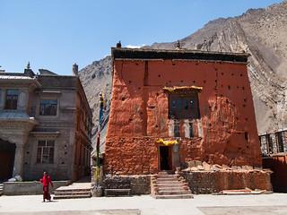 Kagbeni monastery