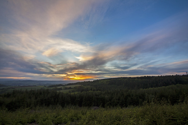 Wide angle Sunset, Canon EOS 5D MARK II, Sigma 15-30mm f/3.5-4.5 EX DG Aspherical