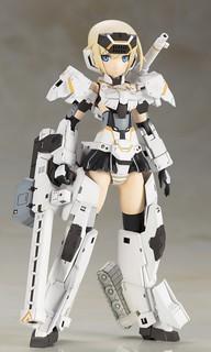 GO!GO!轟雷改!《Frame Arms Girl 骨裝機娘》BD限定特典「動畫版 轟雷改」組裝模型