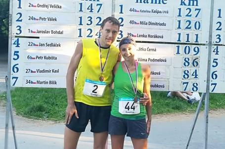 Kašparová za 12h zdolala rekordních 127 km, Velička 147 km
