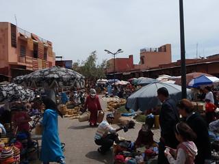 Mercado en Marrakesh, Marruecos