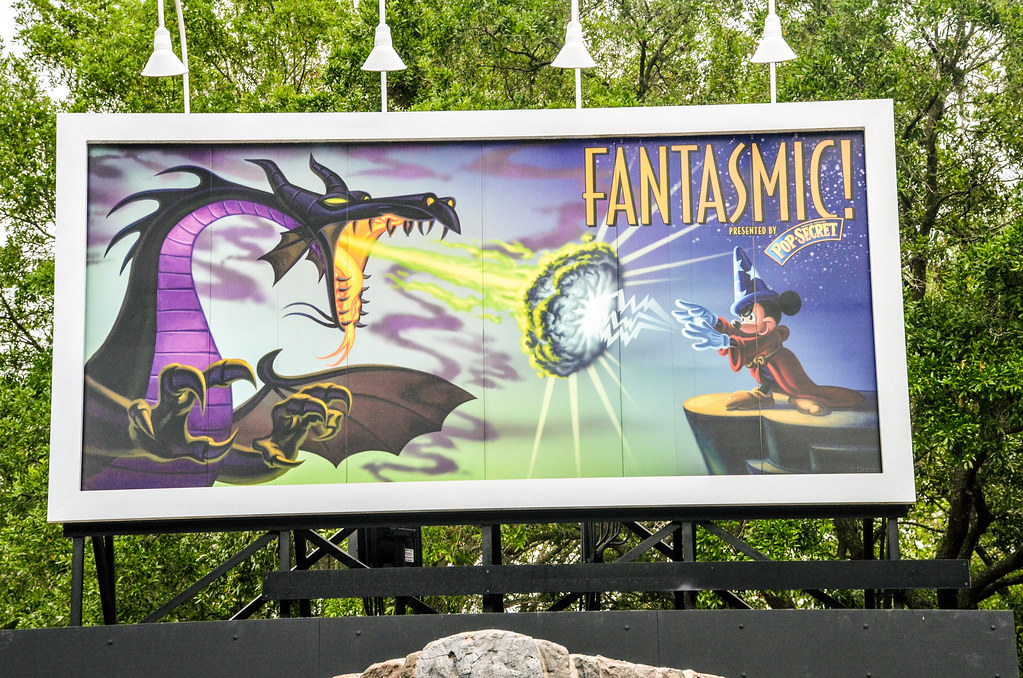 Fantasmic! sign DHS