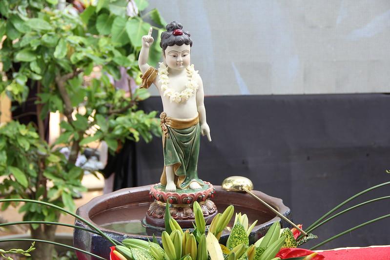 1. Lễ tắm Phật tại Chùa Thiên Quang (để đầu tiên)