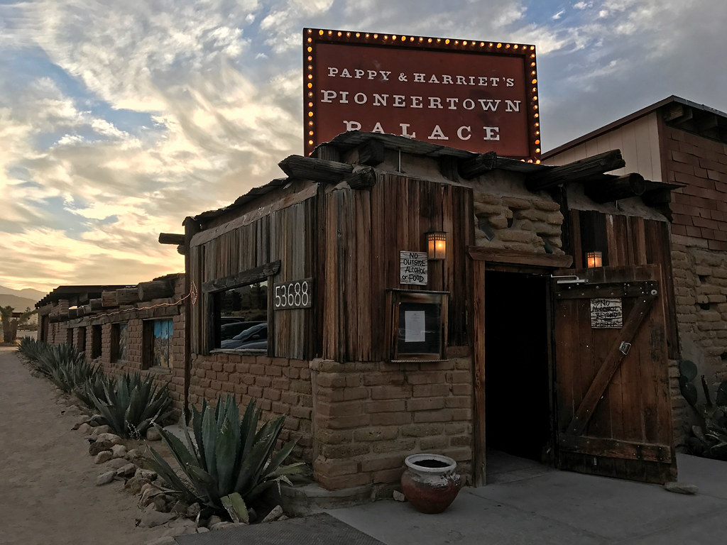 Pappy and Harriet's at Pioneertown in CA
