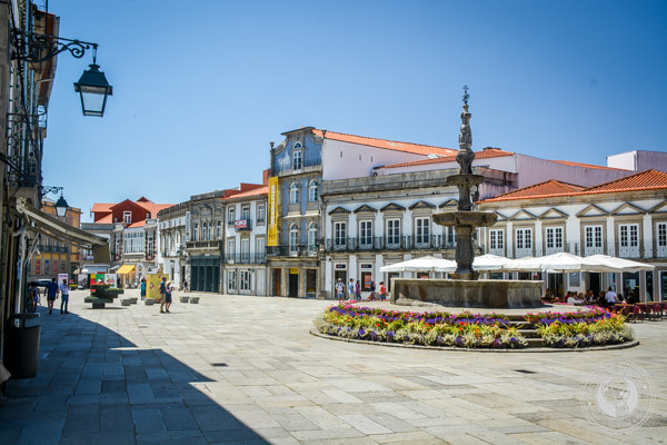 Viana do Castelo in The Minho Portugal