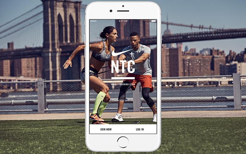 BODY雜誌 nike ntc app 運動 手機