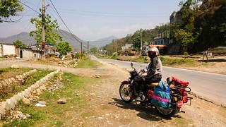 road to Pokhara