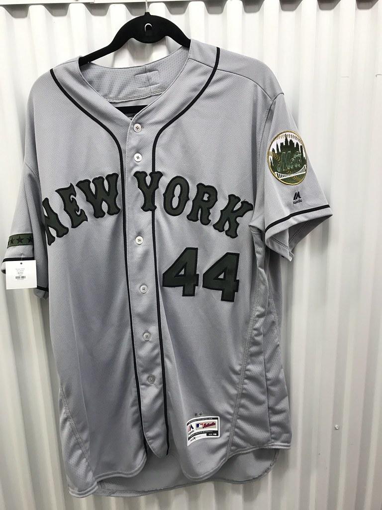 brand new 971f1 3e84b TheMediagoon.com: Game Used Mets: Rivera Memorial Day