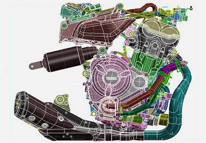 Yamaha MT-07 700 2015 - 17