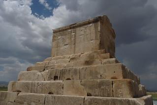Mausoleo de Ciro el Grande. Pasargada (Irán)