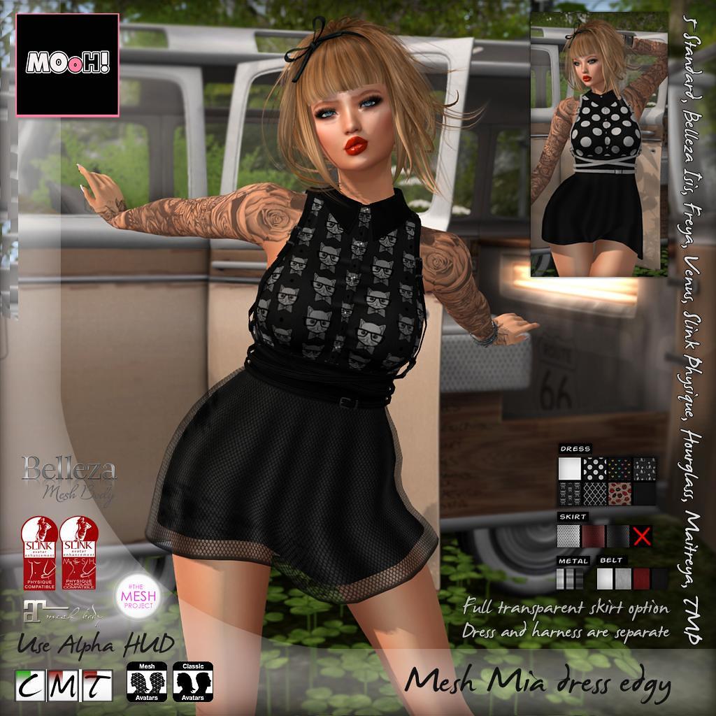 Mia dress edgy - SecondLifeHub.com