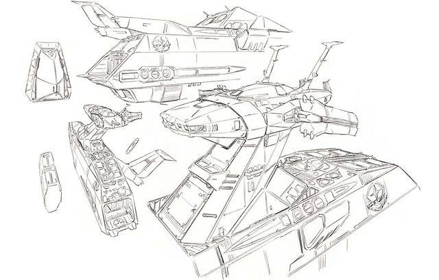 【更新試作品圖】拷打木馬,從左邊開始!FW GUNDAM CONVERGE《機動戰士鋼彈》白色基地(ホワイトベース) 商品化決定!