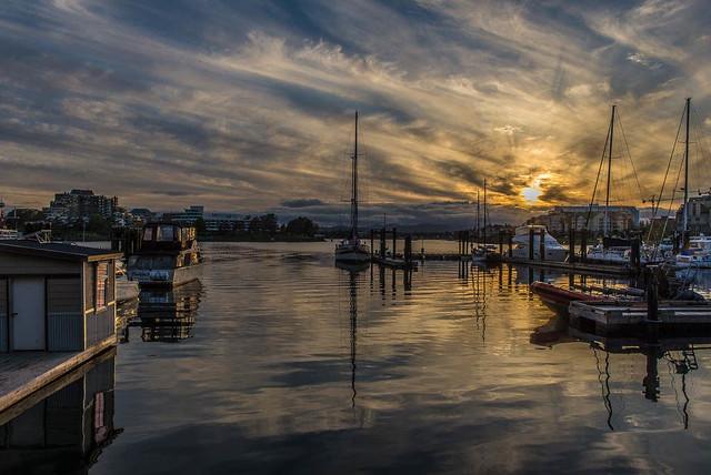 Sunset - Victoria Harbour