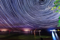 Star Trails - Mille Lacs Lake