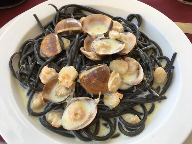 Gondele black spaghetti - Lizarran