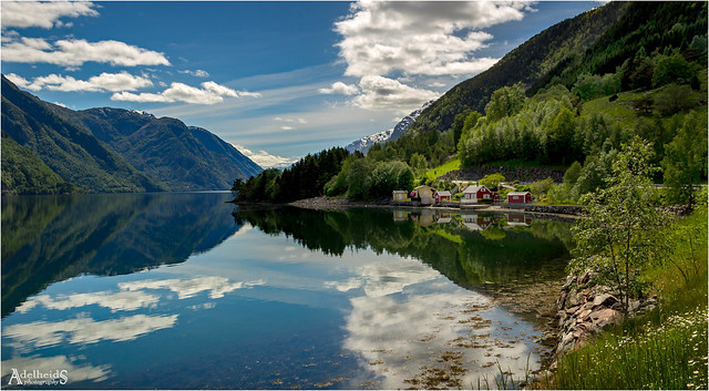 Sørfjord Reflections, Norway