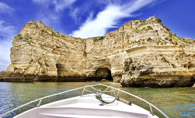 Rock formations in Algarve