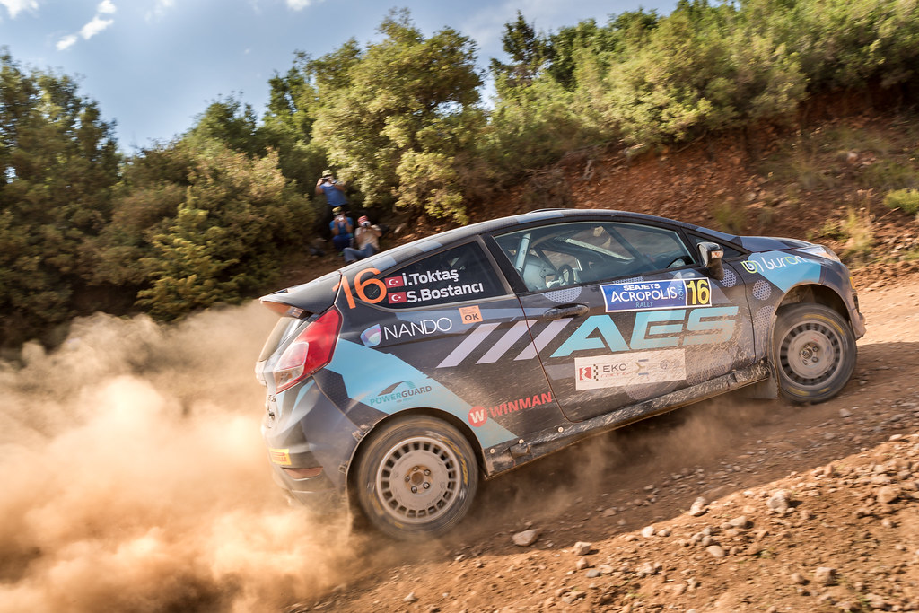 16 TOKTAS Ismet (tur) and BOSTANCI Sedat (tur) action during the European Rally Championship 2017 - Acropolis Rally Of Grece - From June 2 to 4 - Photo Thomas Fenetre / DPPI