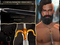 -Labyrinth- Cernunnos' Sword Necklace Advert