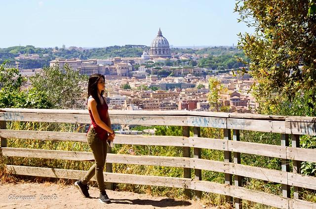 Passeggiata sopra la city