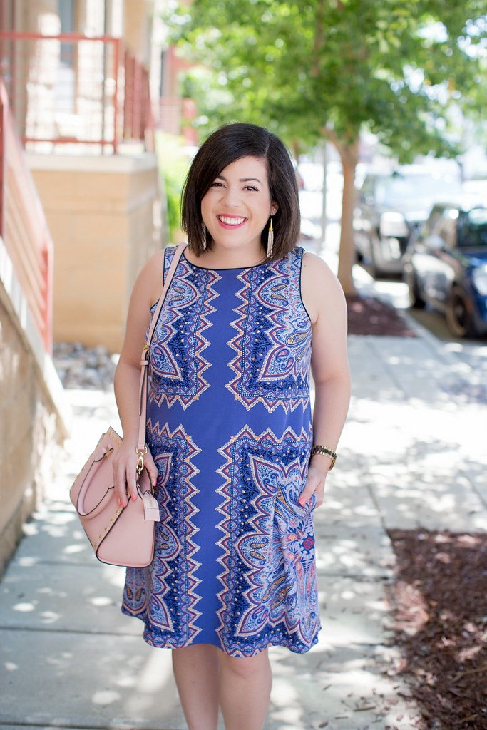 Purple Dress for Work-@headtotoechic-Head to Toe Chic