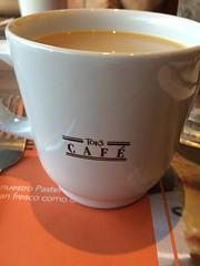 Un rico café en el #Toks #Monterrey