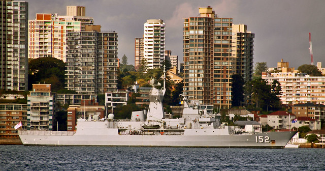 HMAS Warramunga (FFH 152), Anzac-class frigate