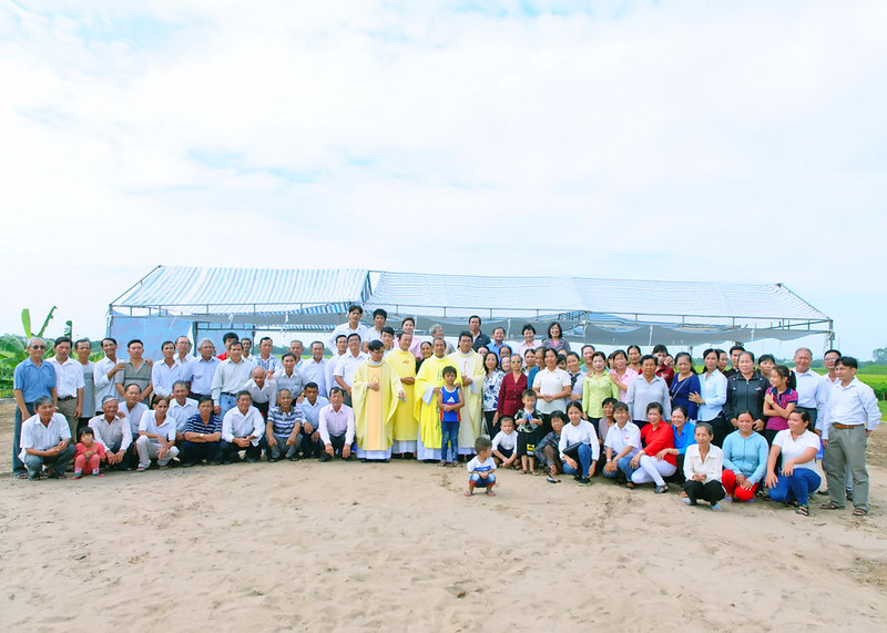 GP.LONG XUYÊN: Lễ Khởi công xây dựng Nhà nguyện An Phú, Châu Đốc
