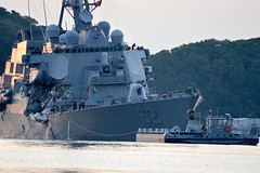 USS Fitzgerald (DDG 62) returns to Fleet Activities Yokosuka, June 17. (U.S. Navy/MC1 Peter Burghart)