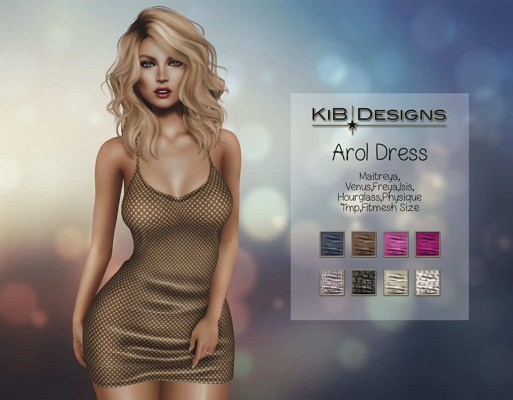 KiB Designs - Arol Dress Exclusive for The Thrift Shop 16.0 - SecondLifeHub.com