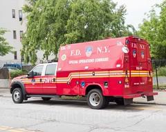 FDNY Ladder 77 Second Supply Truck, Stapleton, Staten Island, New York City