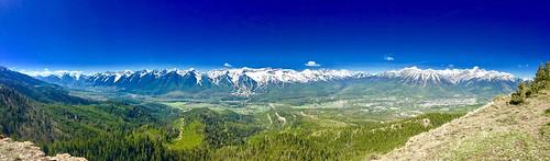 rocky mountains fernie bc british canada columbia castle hike