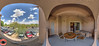 Sheraton Desert Oasis Room 2089 Scottsdale Az Panorama 7 May 10th 2017: Panorama Image & HDR Image