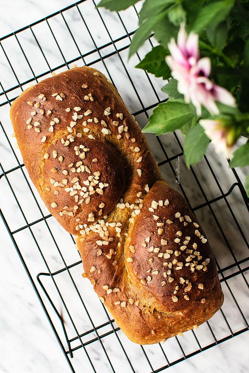 Pan de molde de zanahoria