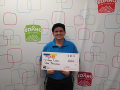 Faye Carey - $1,000 - Pick 3 - Pocatello - Common Cents Food Store