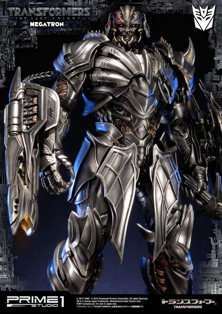Prime 1 Studio 變形金剛5:最終騎士【密卡登】Megatron 超巨大全身雕像