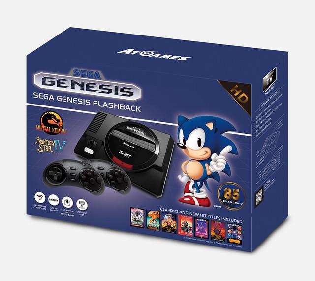 Sega Genesis Flashback(北美版Mega Drive)復活,收錄《音速小子》、《戰斧》等85款經典名作!