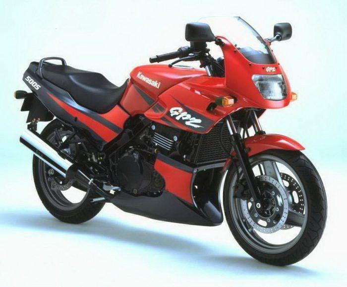 Kawasaki 500 GPZ 2001 - 16