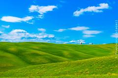Tuscan hills in Windows mode