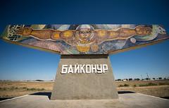 Baikonur Mural