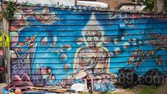 Building Mural, Stapleton, Staten Island, New York City
