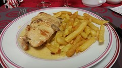 Main: escalope normande - Photo of Ferrières