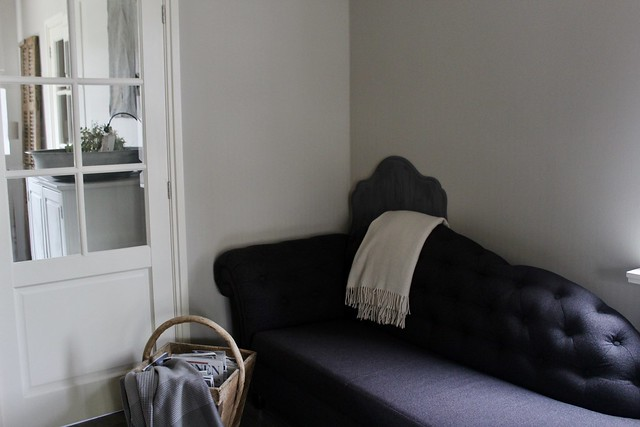 Sofa oude rijstbak