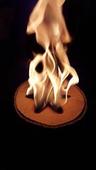 Weirdest, coolest fire ever.