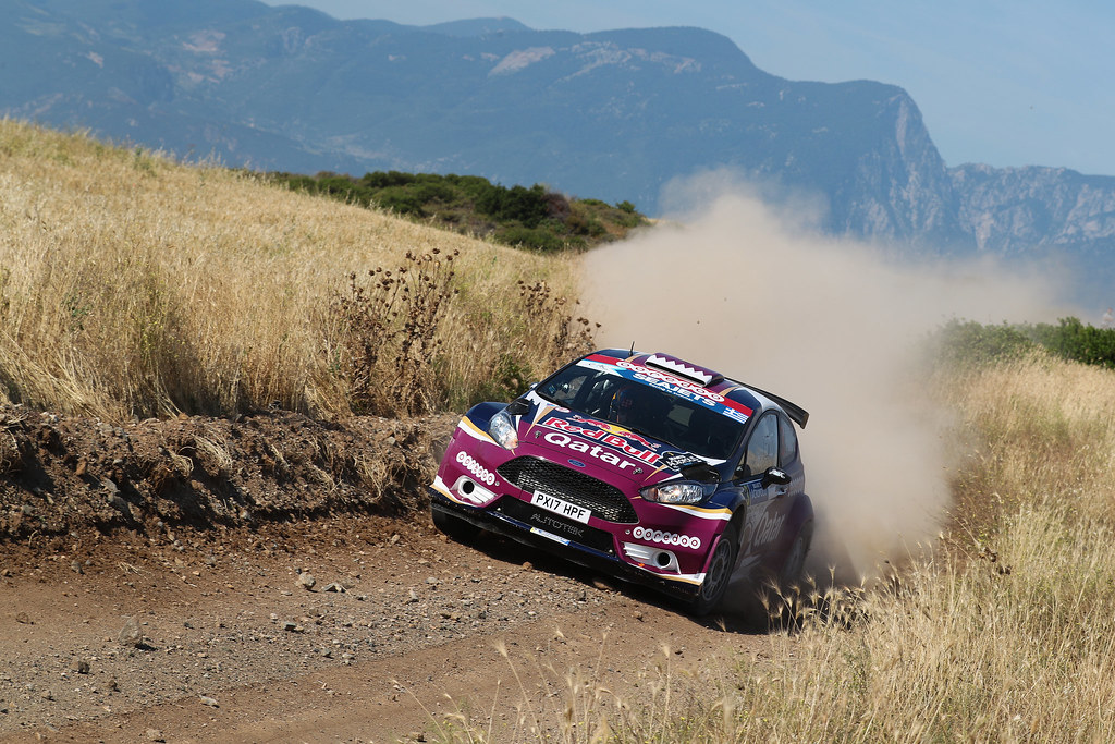 03 AL ATTIYAH Nasser (qat) and BAUMEL Matthieu (fra) action during the European Rally Championship 2017 - Acropolis Rally Of Grece - From June 2 to 4 - Photo Gregory Lenormand / DPPI