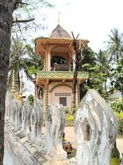 Small Buddhist Temple in Vientienne, Laos