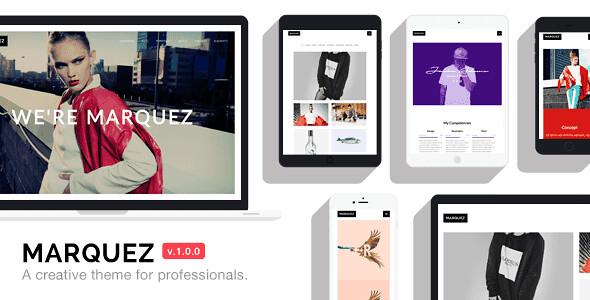 Marquez WordPress Theme free download